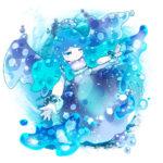 水の精霊 透過素材
