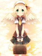 学生天使 透過素材
