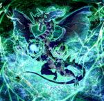 魔法を操る竜 透過素材