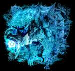 水棲の竜 透過素材