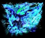 雷を纏う鳥 透過素材