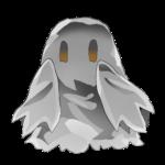 幽霊っぽいモンスター 透過素材 色変更差分