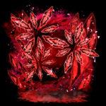 【背景】紅い宝石の背景