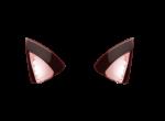 【アイテム・オブジェクト】猫耳 付け耳 ねこみみ