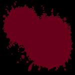 【アイテム・オブジェクト】黒いインク 赤い液体のエフェクト 複数パターン