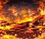 【背景】火山地帯