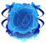【背景】青薔薇の背景