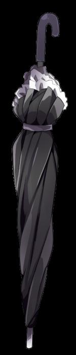 【アイテム・オブジェクト】ゴシック風の傘