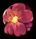 【アイテム・オブジェクト】梅の花 ウメ