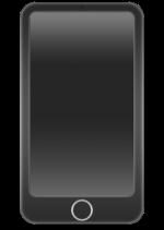 【アイテム・オブジェクト】スマホ スマートフォン 透過素材 2パターン