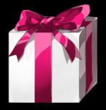 【アイテム・オブジェクト】プレゼント箱 透過素材