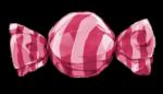 【アイテム・オブジェクト】キャンディ 飴 透過素材 6カラー
