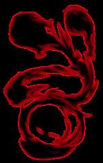 【エフェクト】黒い炎 2パターン