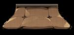 【アイテム・オブジェクト】炬燵 こたつ 透過素材 4カラー