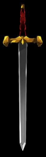 【アイテム・オブジェクト】鋼の剣 ソード 透過素材 6パターン