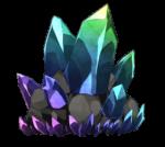 【アイテム・オブジェクト】レア鉱石 透過素材 8カラー