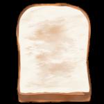 【アイテム・オブジェクト】食パン トースト 4パターン