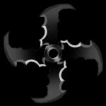 【アイテム・オブジェクト】投擲系刃物武器 透過素材 6パターン