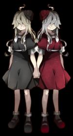 双子 共有者 透過素材
