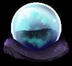 【アイテム・オブジェクト】水晶玉 透過素材