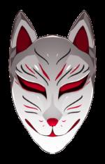 【アイテム・オブジェクト】狐のお面 2カラー