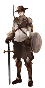騎士 ハンター 狩人 透過素材