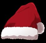 【アイテム・オブジェクト】サンタ帽子 透過素材