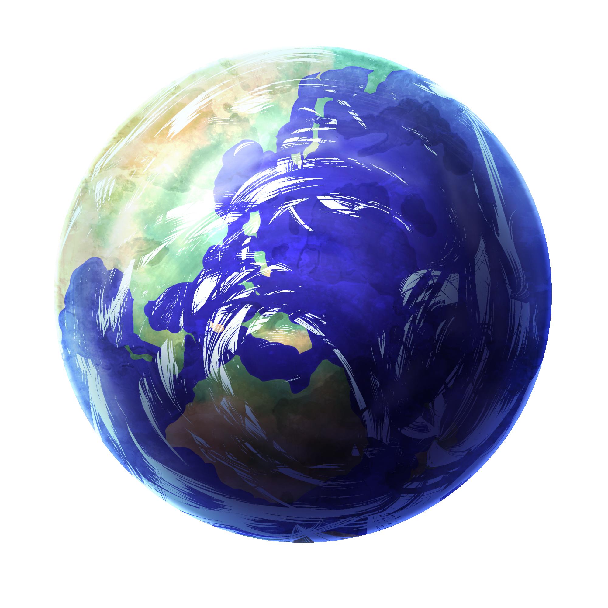 アイテム オブジェクト 惑星 太陽 水星 金星 地球 火星 木星 土星 天王星 海王星 透過素材 七三ゆきのアトリエ