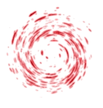 【オブジェクト・エフェクト】渦エフェクト 透過素材 4カラー