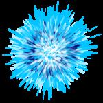 【オブジェクト・エフェクト】炸裂エフェクト 透過素材 2カラー