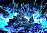 青い魔獣 透過素材