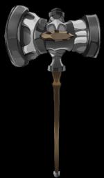 【アイテム・オブジェクト】ハンマー 槌 透過素材 6カラー