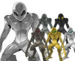 宇宙人 異星人 透過素材 6カラー