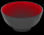 【アイテム・オブジェクト】お椀 茶碗 どんぶり 丼  2パターン 透過素材