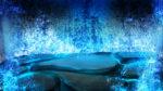 【背景】滝の洞窟の背景