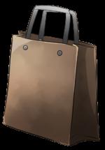 【アイテム・オブジェクト】紙袋 透過素材 6カラー