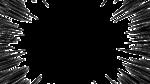 【背景・フレーム】集中線 2パターン