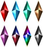 【アイテム・オブジェクト】ダイヤ 透過素材 8パターン