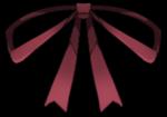 【アイテム・オブジェクト】シンプルタイ リボン 透過素材 6カラー