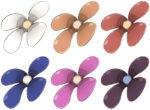【アイテム・オブジェクト】シンプル花 透過素材 6カラー