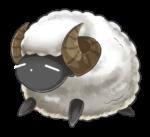 シープさん 羊 透過素材 2パターン