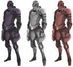 モブ 兵士 騎士 透過素材 6パターン
