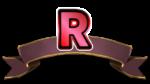 【オブジェクト】レア文字「R」 透過素材 2パターン