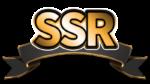 【オブジェクト】レア文字「SSR」 透過素材 2パターン