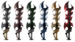 【アイテム・オブジェクト】悪魔の剣 透過素材 6カラー