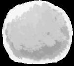 【アイテム・オブジェクト】もふもふ 毛玉 透過素材