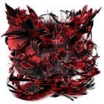 魔竜ニーズヘッグ 透過素材 5パターン