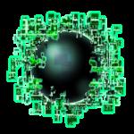 【アイテム・オブジェクト】バグコア 透過素材 2カラー
