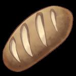 【アイテム・オブジェクト】パン バゲット 透過素材 4パターン