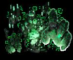 電脳巨人 透過素材 2カラー